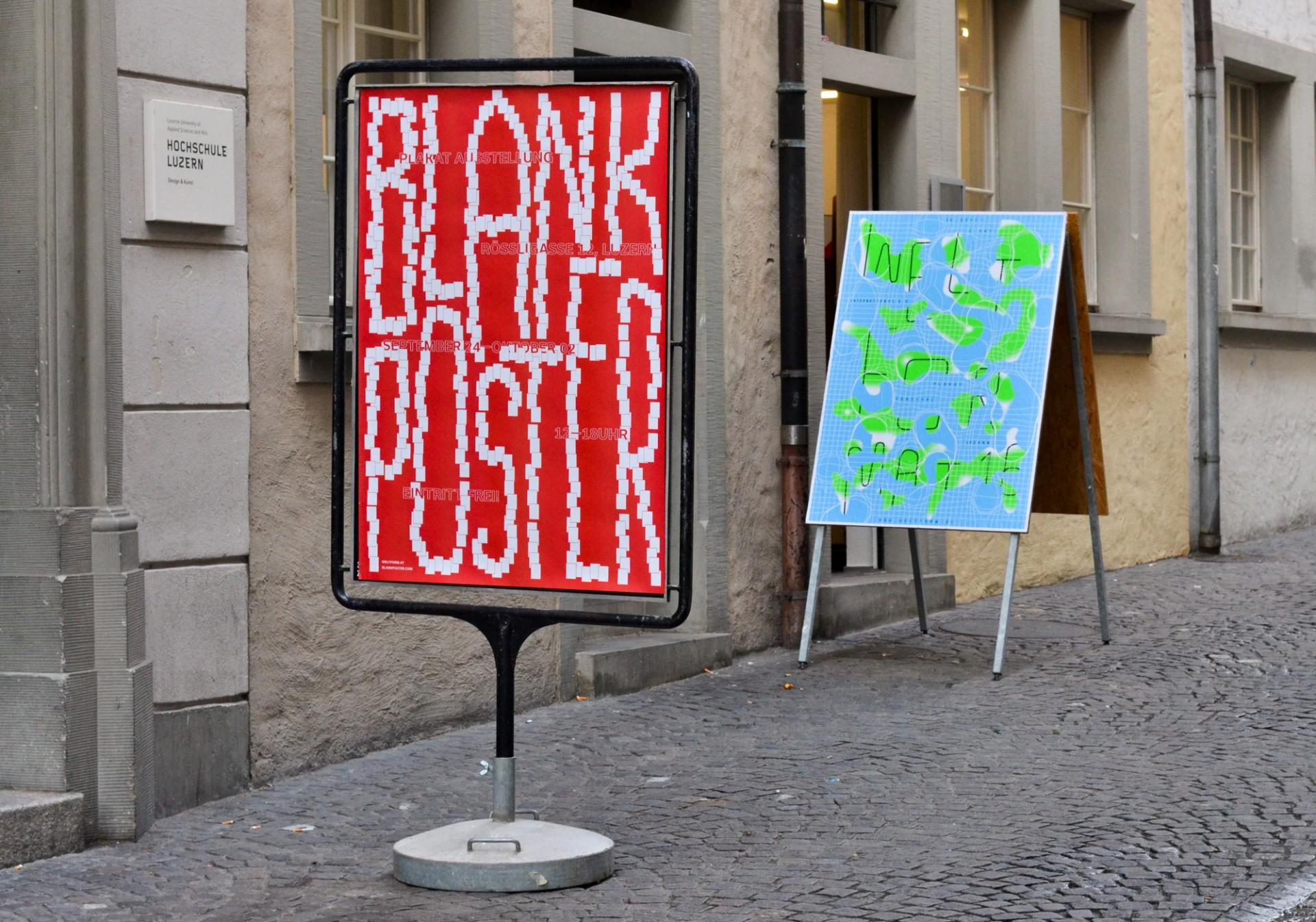 Anders Bakken Blank Poster x Weltformat