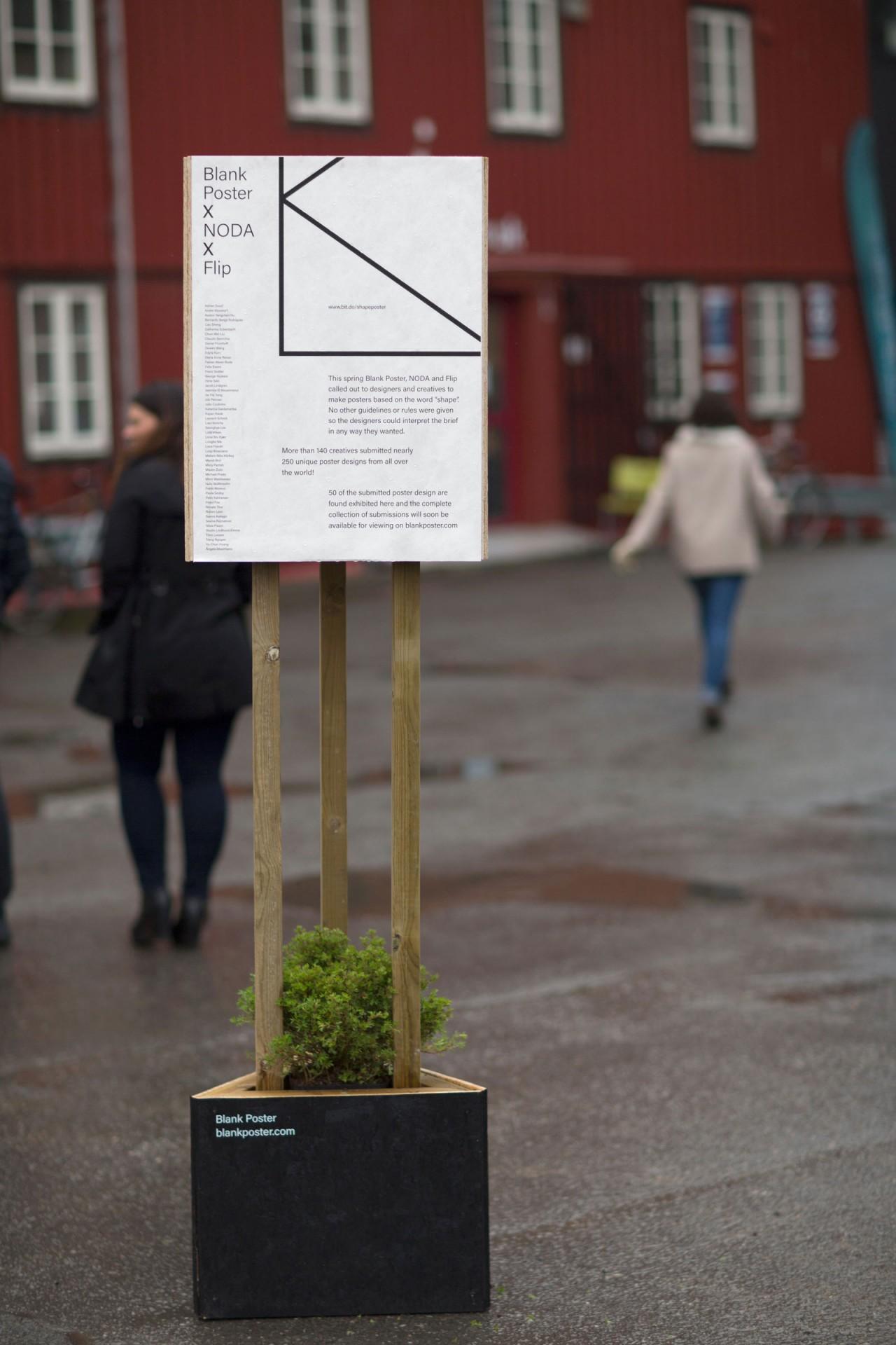Anders Bakken Blank Poster x Noda x Flip