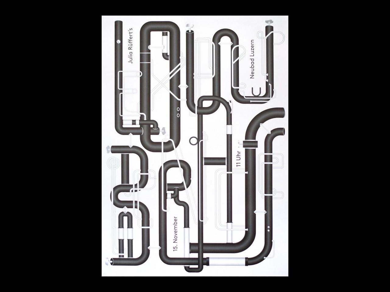 Anders Bakken Neubad posters
