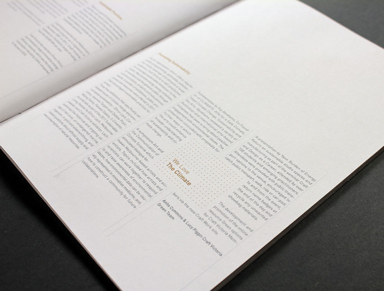Anders Bakken Craft Victoria annual report