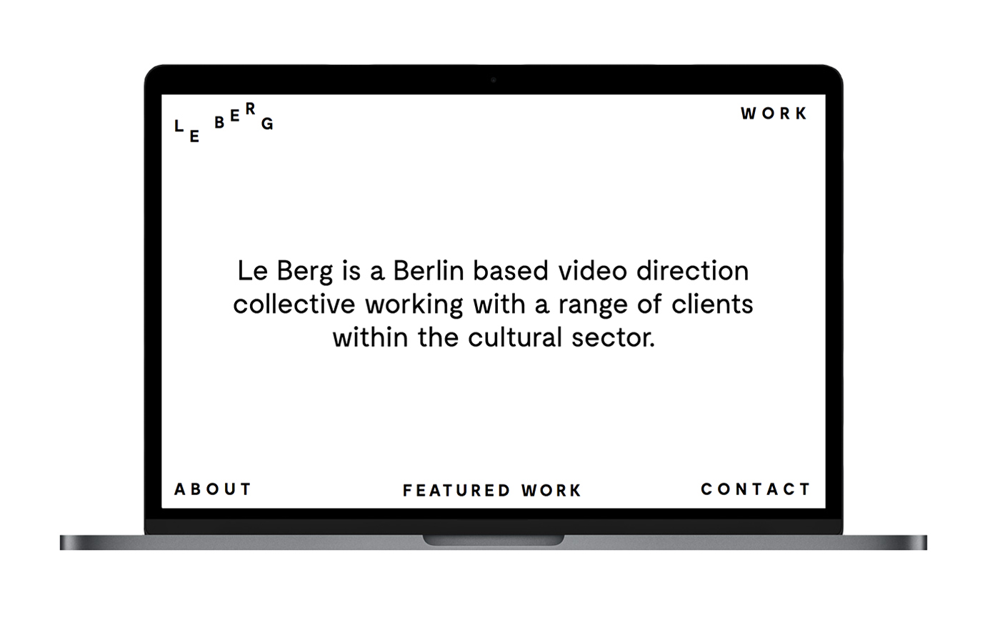 Anders Bakken Work – Web design